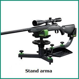 Stand banc reglat arma vanatoare