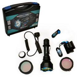 Set lanterna arma vanatoare Olight Warrior X Turbo