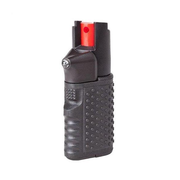 Spray lacrimogen, iritant autoaparare cu lanterna OC Hurrican 15 ml