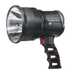 Lanterna MacTronic X-Pistol zoom si powerbank incarcare micro USB