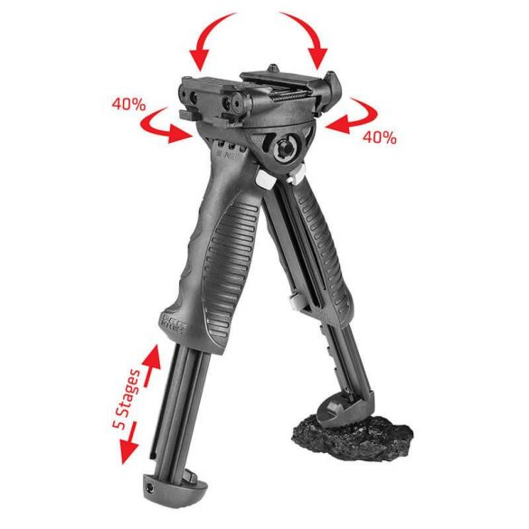 Bipod Rotating Tactical Foregrip G2 QR