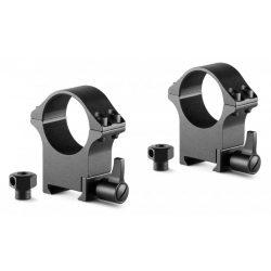 Inele Hawke Professional 30 mm, Weaver, inalte, otel, detasabile
