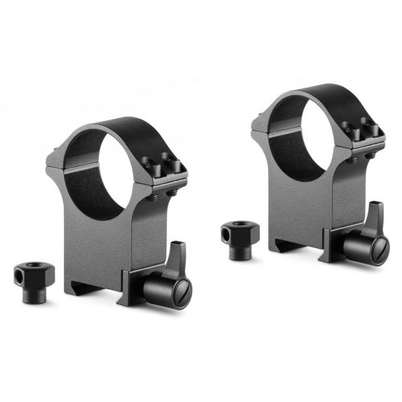 Inele Hawke Professional 30 mm, Weaver, extra inalte, otel, detasabile