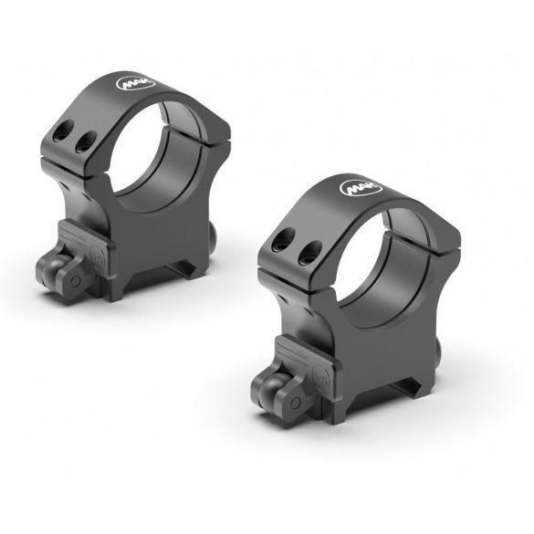 Set inele luneta detasare rapida MAKuick3 pentru sina Weaver inaltime 14 mm