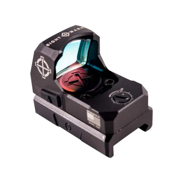 Red Dot Sightmark Mini Shot A-Spec FMS 2MOA, cu doi suporti pentru sina Weaver